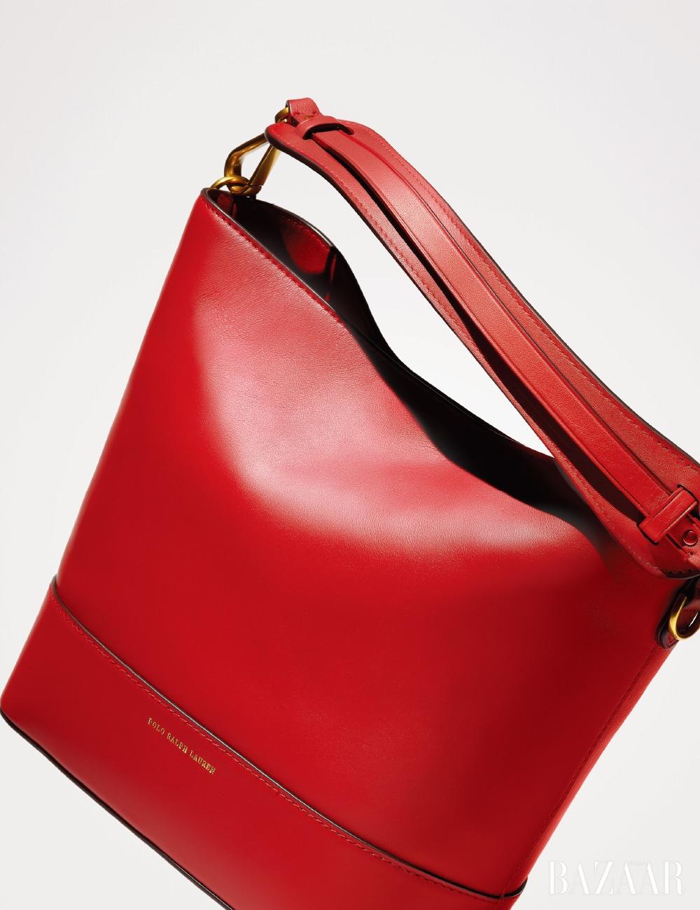 스몰 사이즈 '설리번 스퀘어' 버킷 백은 59만원대 Polo Ralph Lauren.