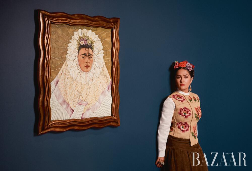 빅토리아 & 앨버트 뮤지엄, 프리다 칼로(Frida Kahlo)의 'Diego on My Mind(Self Portrait as a Tehuana'(1943)와 함께