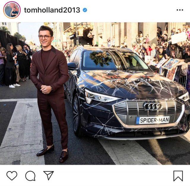 톰 홀랜드 공식 인스타그램