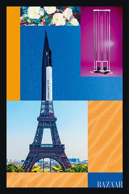 콜레트와 함께한 <Souvenirs de Paris> 콜라주 작업