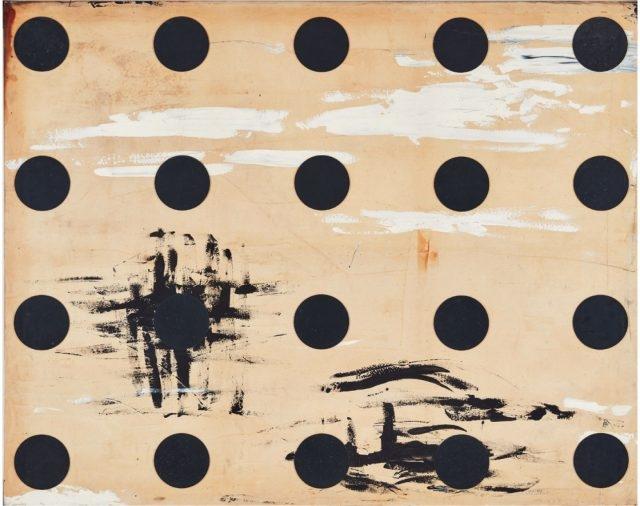 '무제', 캔버스에 혼합재료, 181.5×227cm, 1991