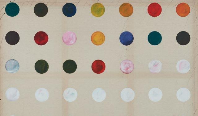 '무제', 캔버스에 아크릴, 194×259cm, 1990