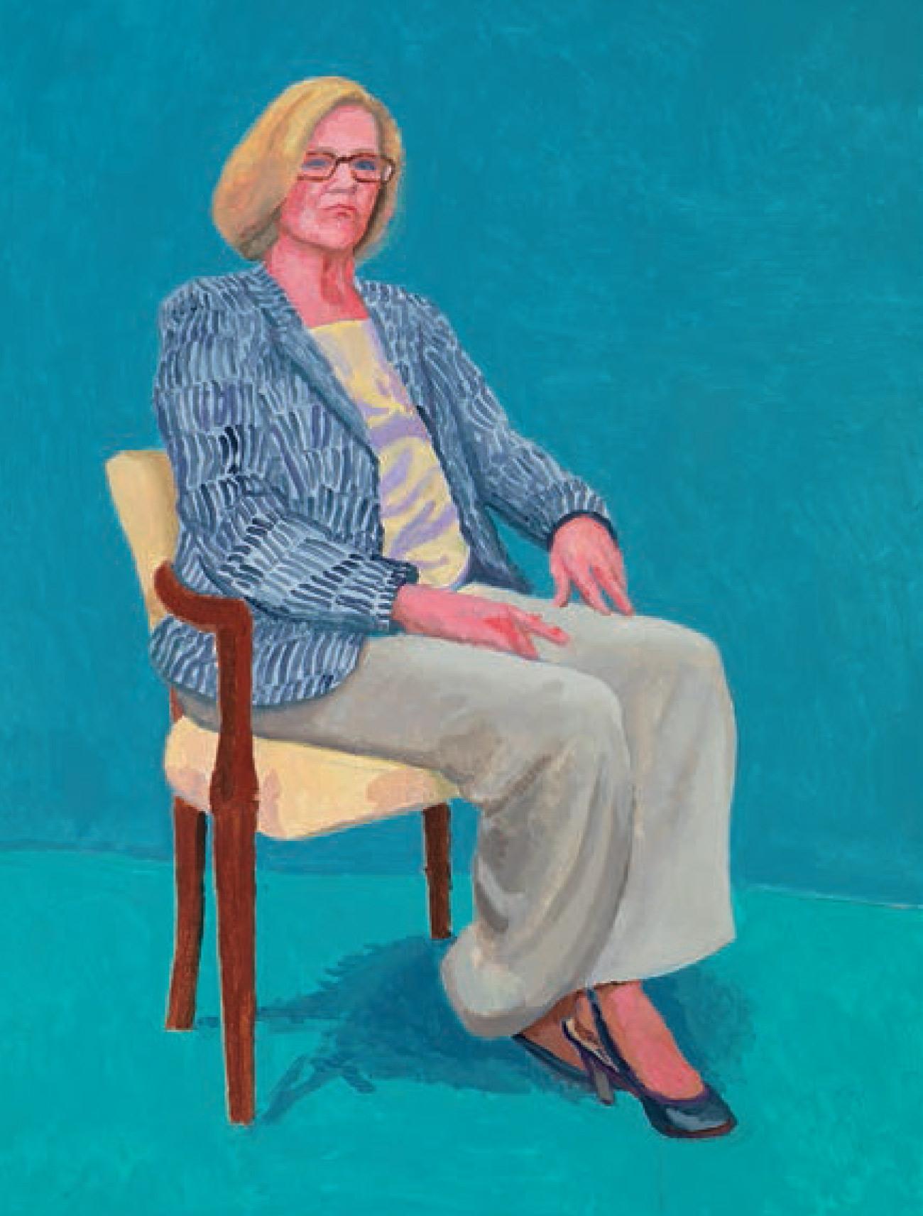 Cat. 22Dagny Corcoran, 15th, 16th, 17th January 2014, Acrylic on Canvas, 121.9 × 91.4cm