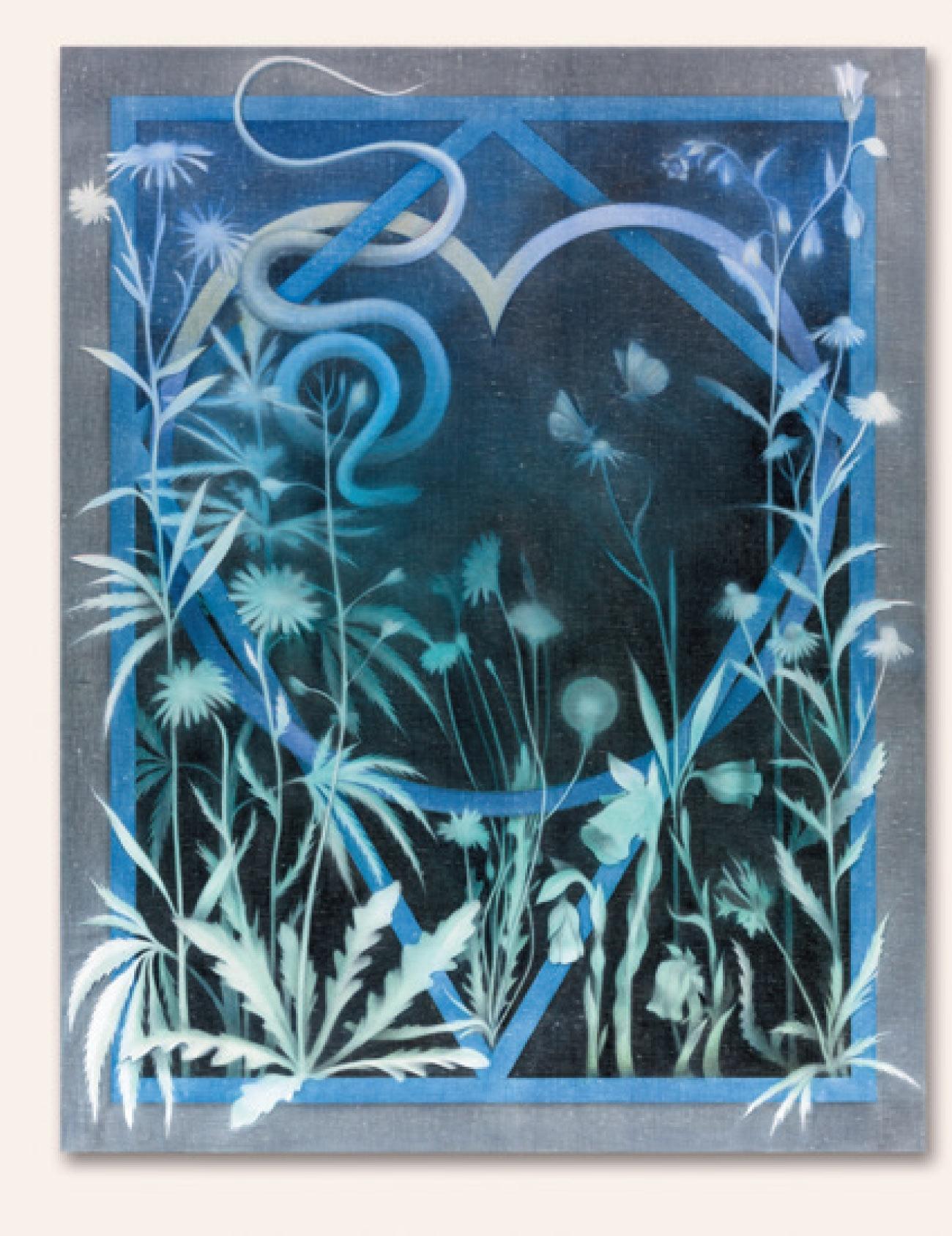 테오도라 앨런, 'Plot, No.7', 2015(ⓒ Theodora Alle