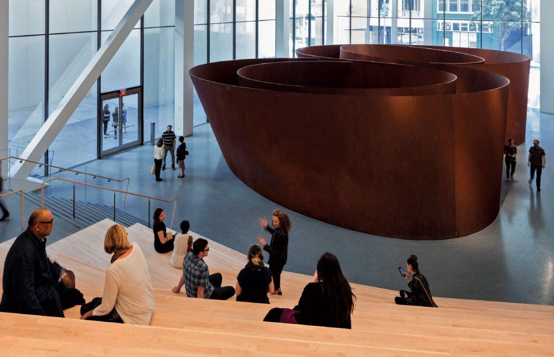 리처드 세라(Richard Serra), 'Sequence', Weatherproof Steel, 388.62×1240.47×1986.76cm, 2006