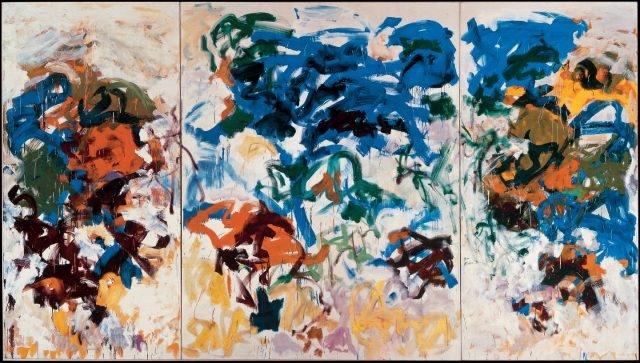 조안 미첼(Joan Mitchell), 'Bracket', Oil on Canvas, 270.51×471.81cm, 1989