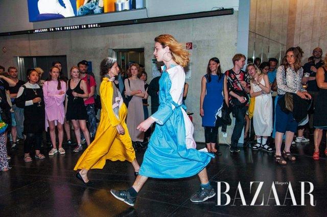 패션쇼 퍼포먼스 'Dress Rehearsal', 2016