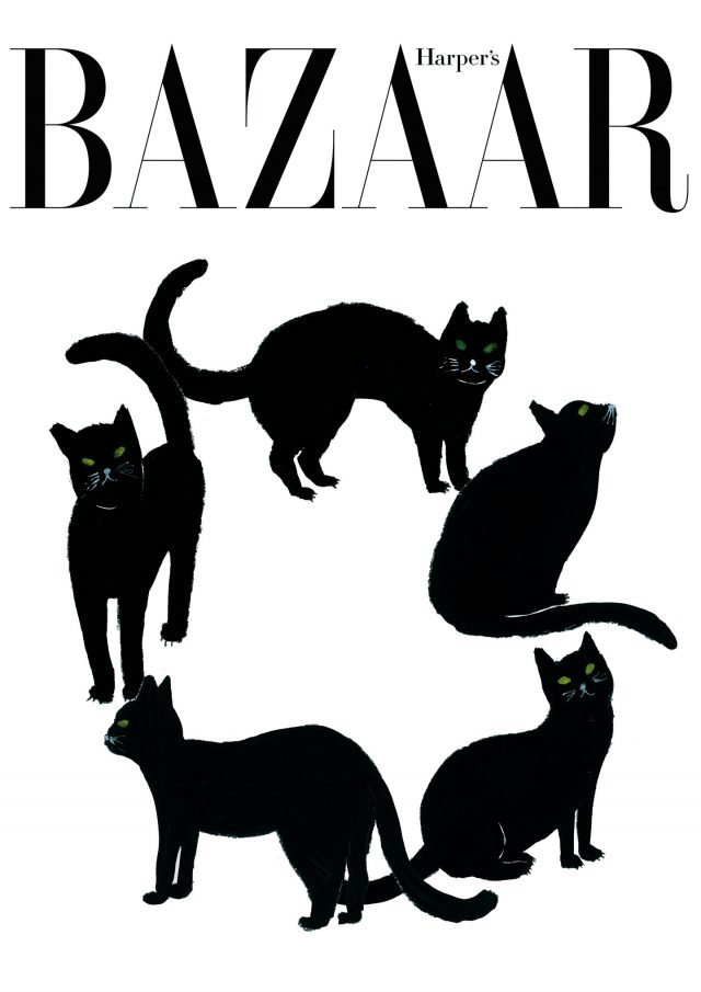 Cover From Artists 20-Harper's BAZAAR Korea 2016년 8월호