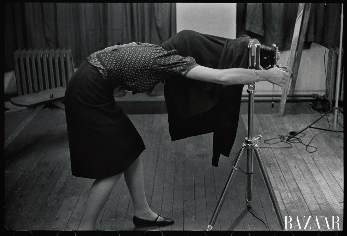 앙리 카르티에-브레송이 촬영한 1960년의 잉게 모라스