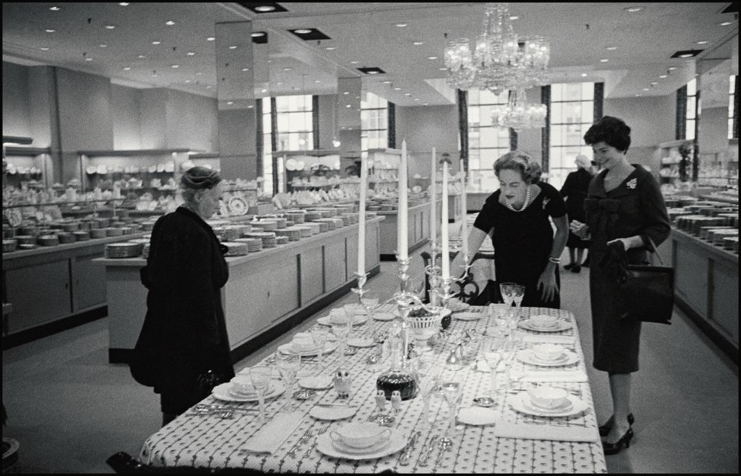 1958년 5번가에 위치한 티파니 매장