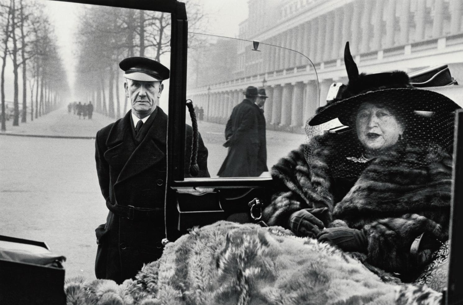 1953년 버킹엄 궁 몰에서의 이블리 내시