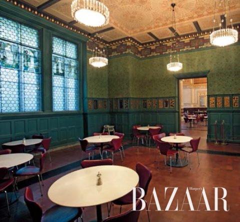 윌리엄 모리스 룸으로 불리는 V&A 뮤지엄의 레스토랑 (© Victoriaand Albert Museum, London)