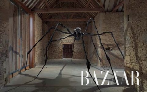 전시장 입구에서 관객을 압도하는 '거미', 1996 (© The Easton Foundation/VAGA, New York/DACS, London 2016. Courtesy Hauser & Wirth. Photo: Ken Adlard)