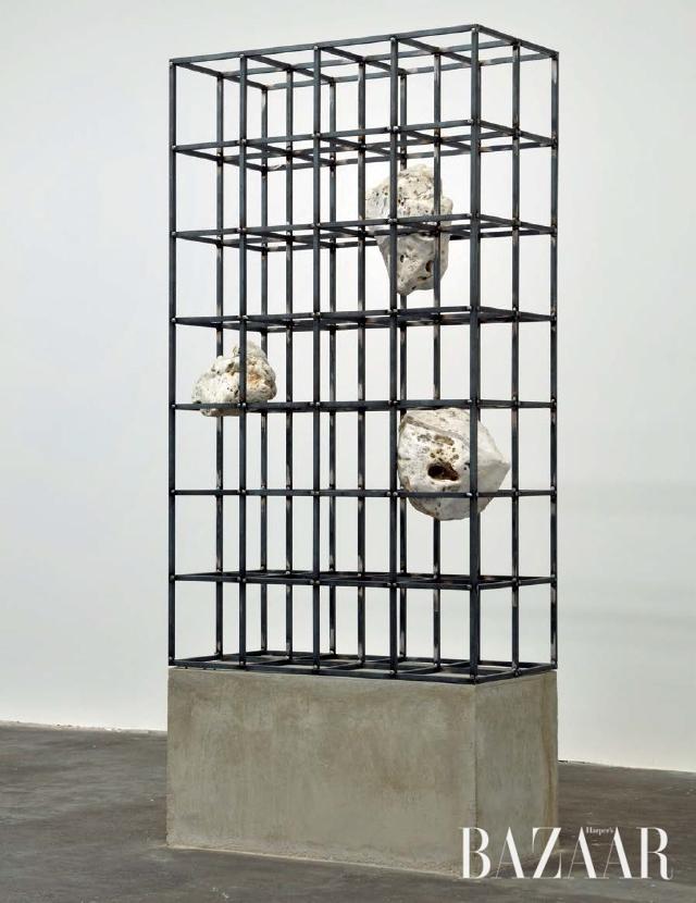 <strong>'Von Allein'</strong>, Steel, Wood, Aluminium, Plastic, 2014