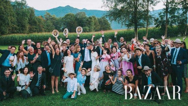 나의 결혼식을 빛내준 그대들, 모두 고마워요!
