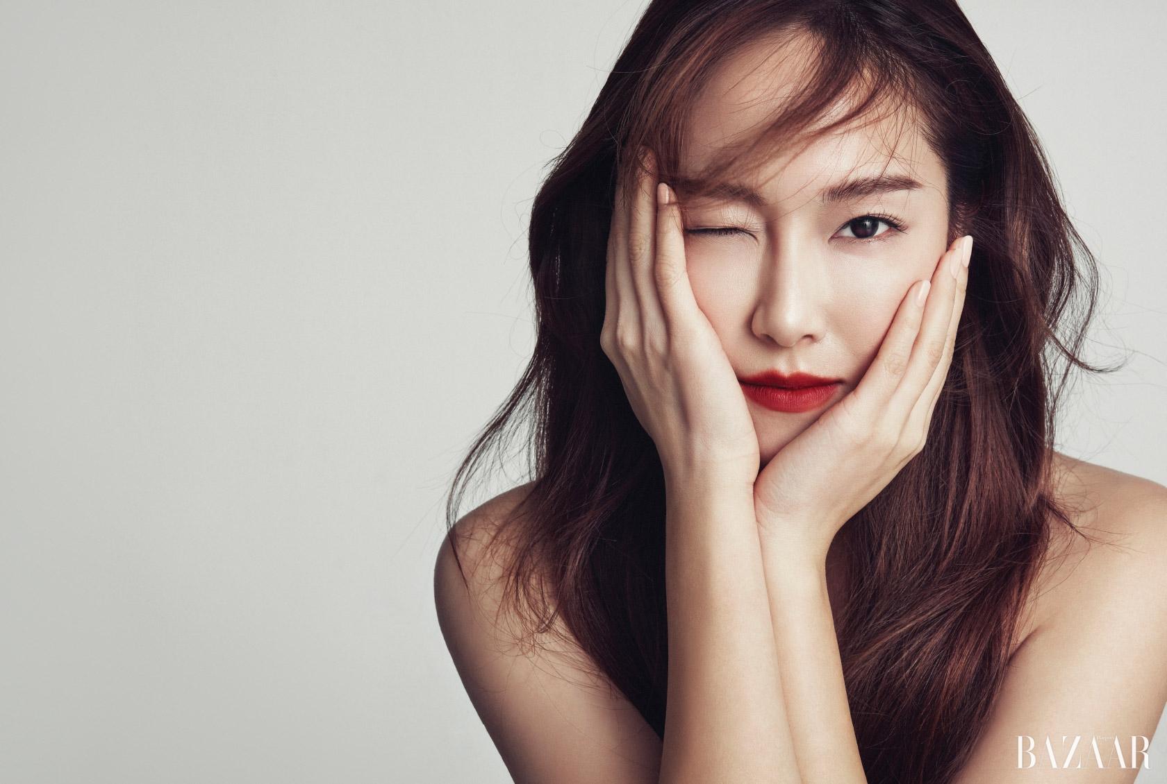제시카의 민낯 - Harper's BAZAAR Korea 2016년 12월호
