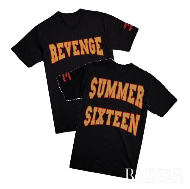 드레이크의 '서머 식스틴' 팝업스토어의 투어 티셔츠