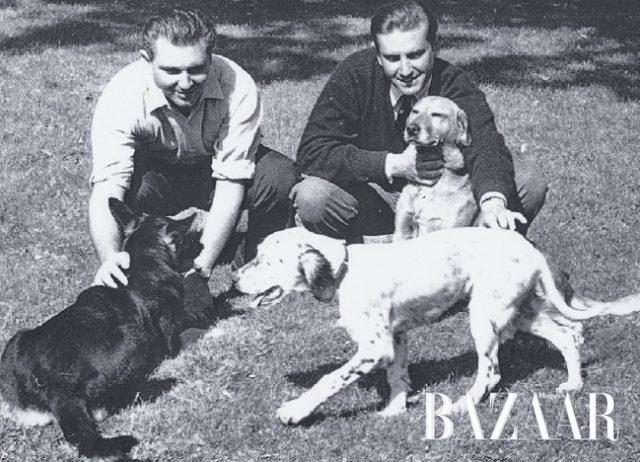 유달리 동물을 아꼈던 미셸 도르나노와 위베르 도르나노