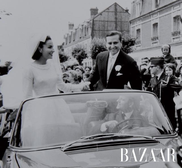 한 없이 우아했던 위베르 도르나노와 이자벨의 결혼식