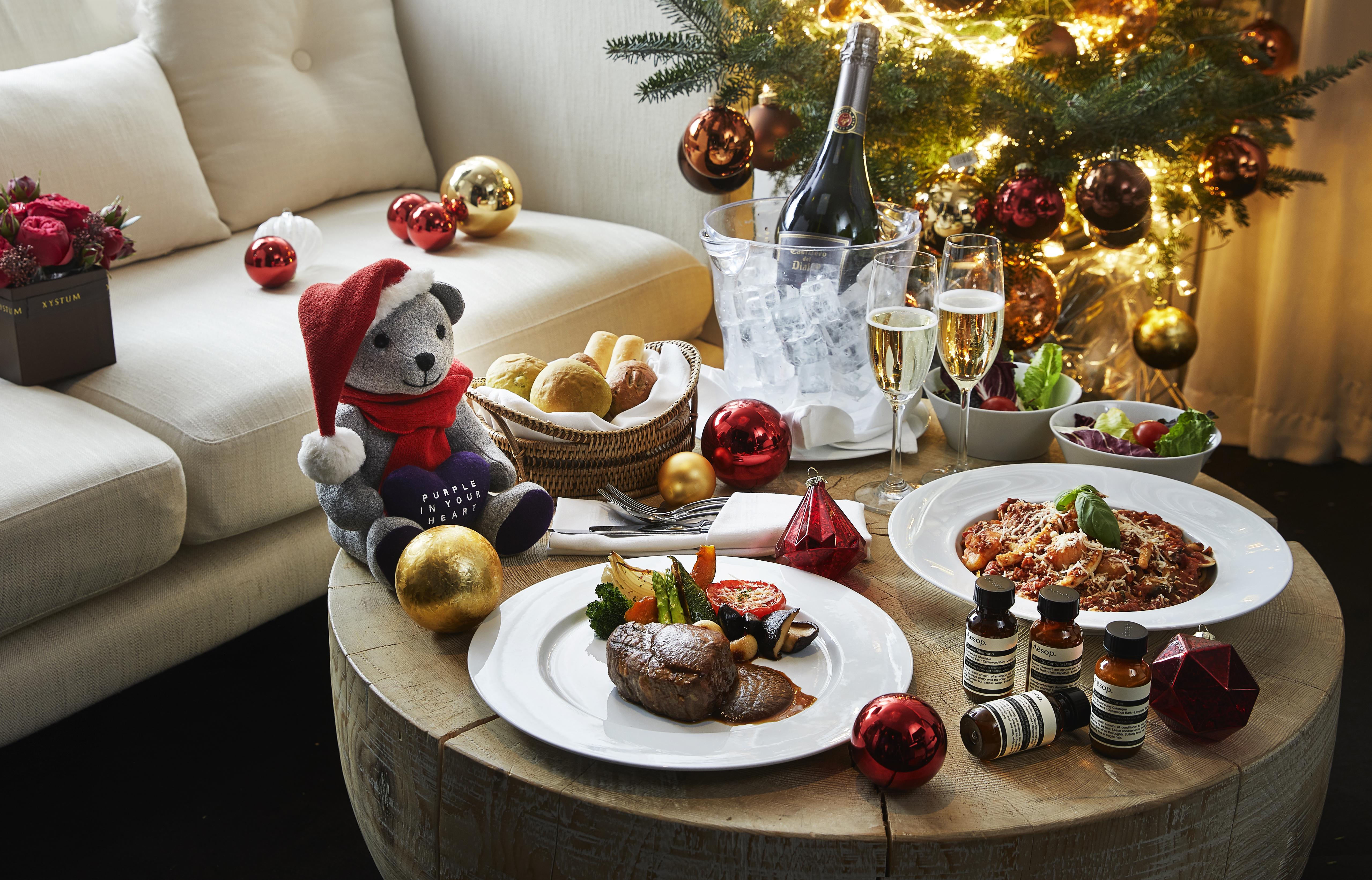 호텔 스파와 함께 누릴 수 있는 완벽한 힐링 크리스마스.