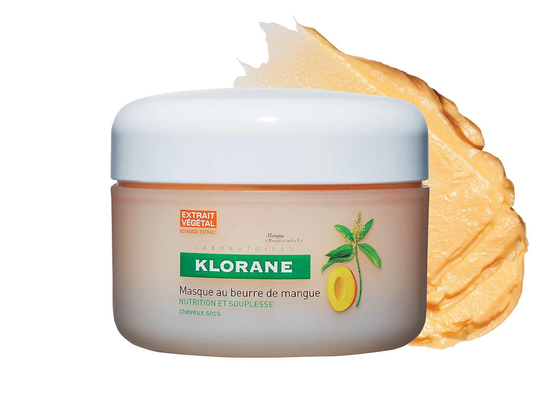 1.Klorane '망고 마스크' 고농축 망고 버터를 담아 건조하고 손상된 모발이 즉각적으로 윤기를 되찾는다. 2만8천원.