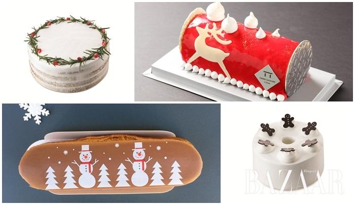 부쉬 드 노엘, 산타모자 케이크, 슈톨렌, 디저트 뷔페까지. 올해 크리스마스는 이런 디저트와 함께!