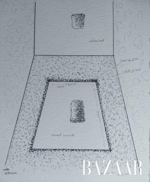 '(발굴된) 토포스'의 스케치
