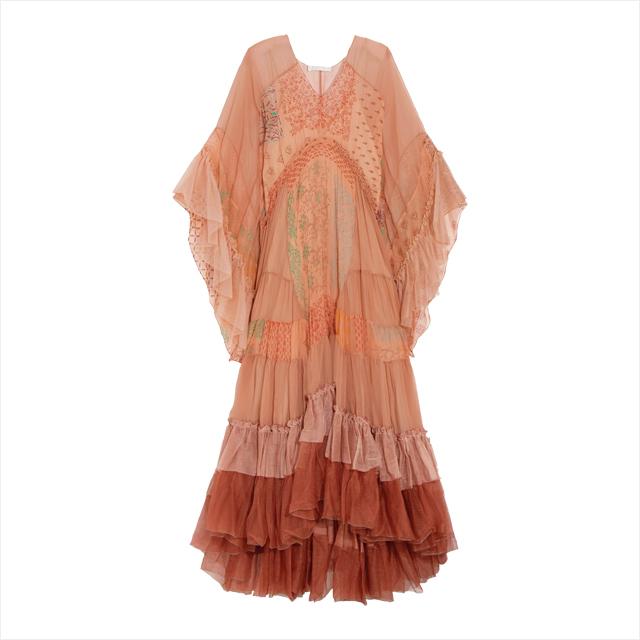 러플 롱 드레스는 1천2백11만원대로 Chloé by Net-A-Porter