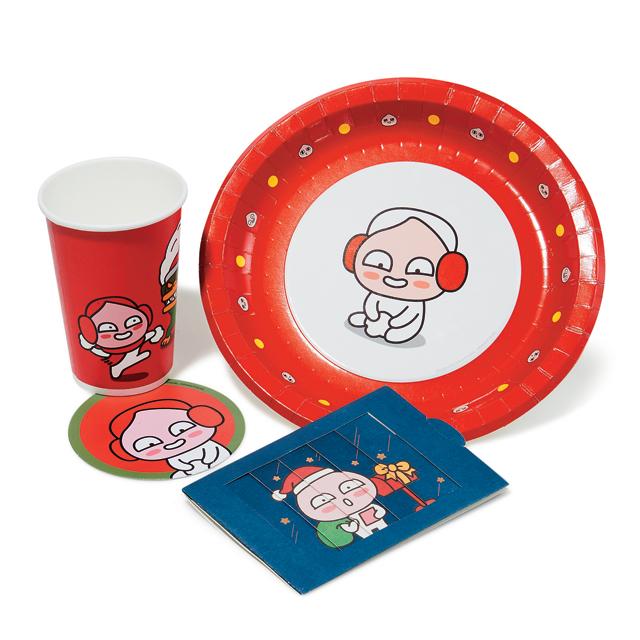 사랑스러운 크리스마스 에디션은 가격 미정으로 Kakao Friends
