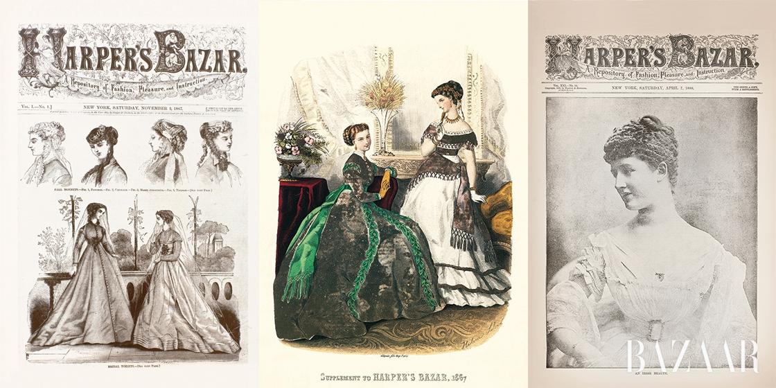 1867년에 창간된 <하퍼스 바자>는 패션이라는 렌즈를 통해 여자들의 삶을 탐구한 최초의 정기간행물 중 하나다. <바자>의 창간 1백50주년을 기념하기에 앞서, 잡지의 초기 모습과 <바자> 고유의 대담한 정신을 되돌아보기로 했다.