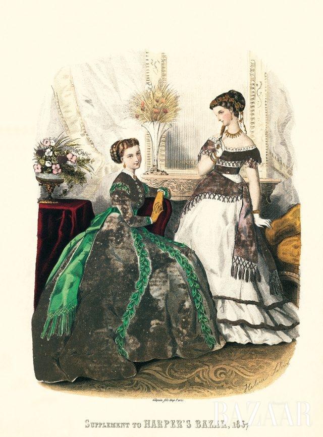 창간호에 실린 엘루이즈 를루아르(Héloïse Leloir)의 컬러 일러스트레이션