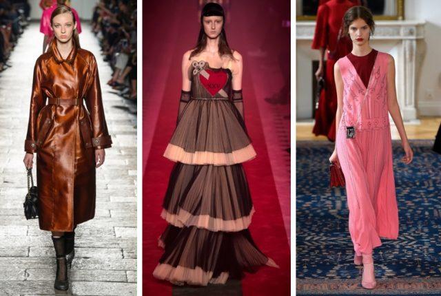 왼쪽부터 Bottega Veneta, Gucci, Valentino