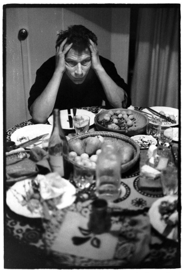 1978년의 런던에서, 장 모르가 찍은 52세의 존 버거.