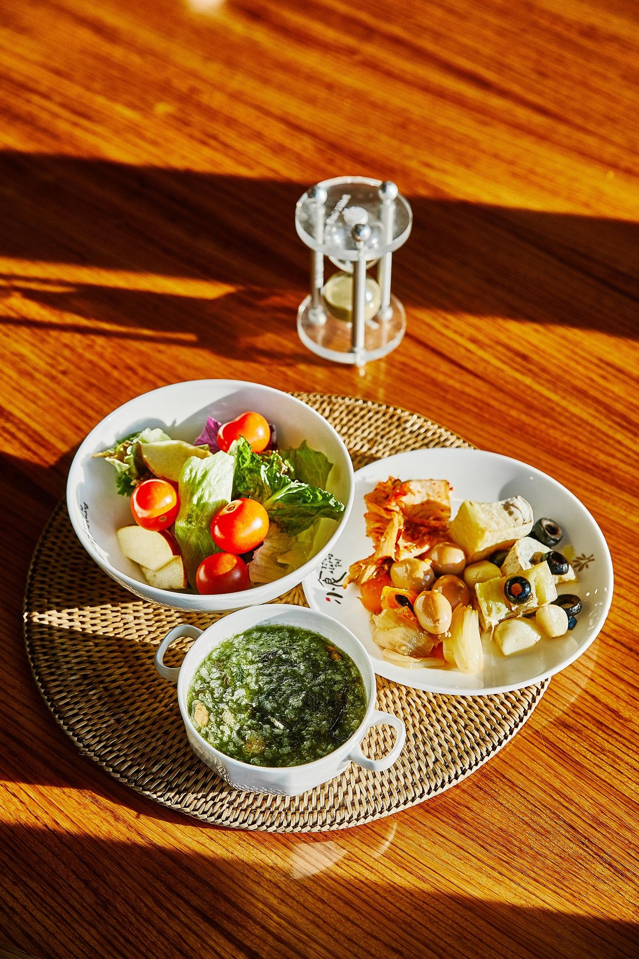 비채식당에서 즐긴 아침 식사