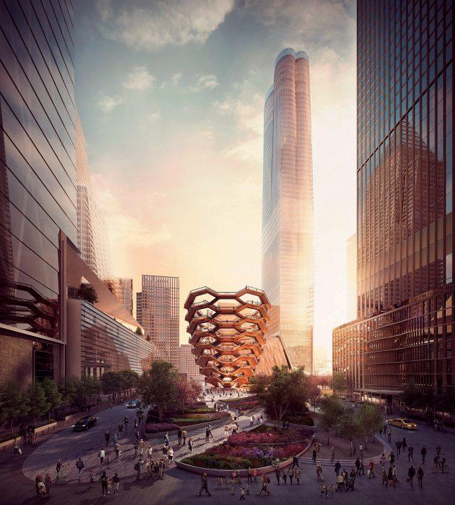 '공공의 정글짐'이라는 별명을 얻은 헤더윅의 건물은 16층 규모로 이루어졌으며 중간마다 각기 다른 시선으로 도시를 내려다볼 수 있는 80개의 전망대가 있다.