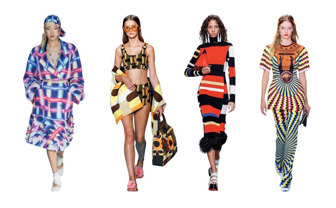 2017 S/S Chanel, 2017 S/S Miu Miu, 2017 S/S Proenza Schouler, 2017 S/S Mary Katrantzou