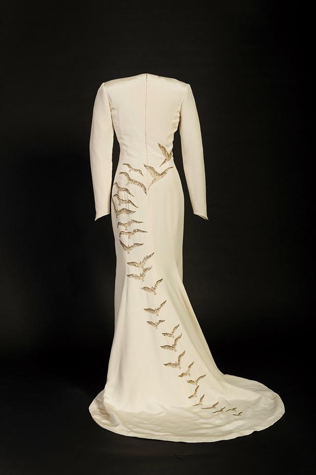 캐서린 워커(Catherine Walker)의 실크 드레스