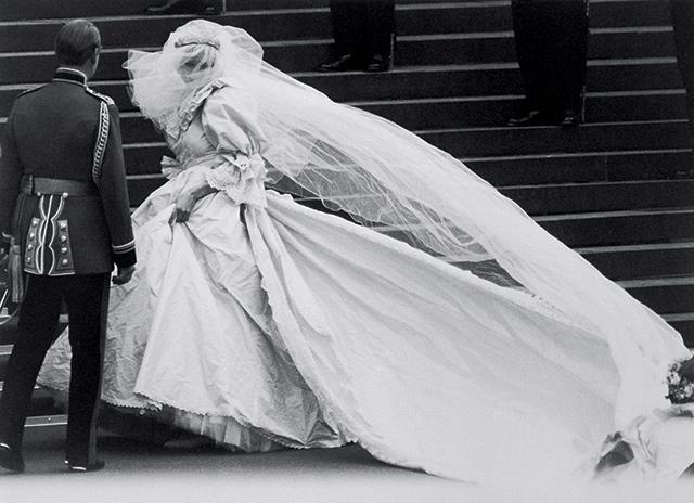 1981년 7월, 찰스 황세자와 다이애나의 세인트폴 대성당 결혼식