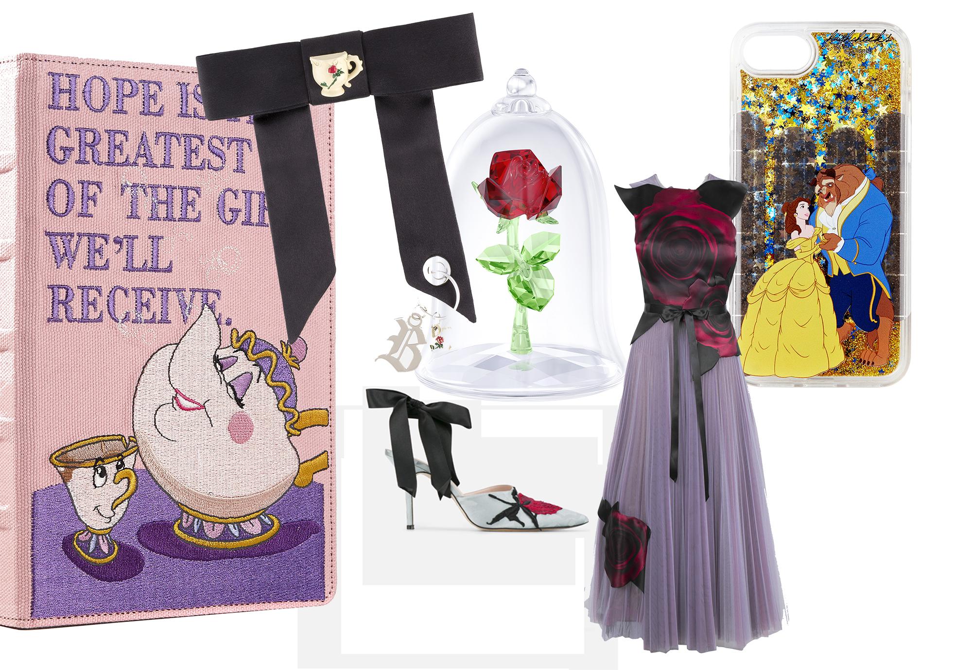 아름다운 벨과 진정한 사랑의 의미를 찾아야만 저주를 풀 수 있는 야수의 낭만적인 이야기를 담은 디즈니의 클래식 애니메이션 <미녀와 야수> 와 패션 브랜드들의 만남.