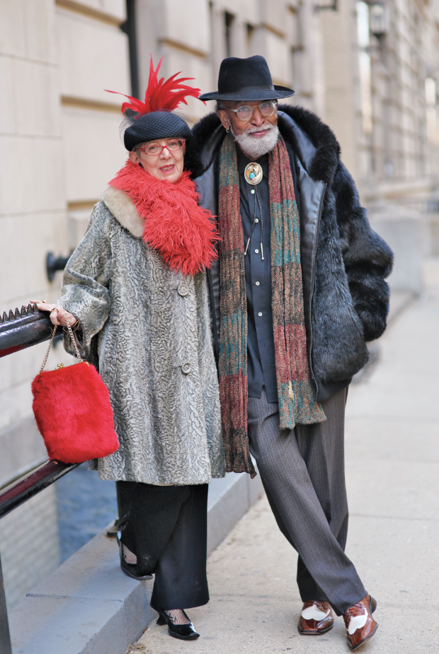 Bill and Eva Kobus Webb, New York