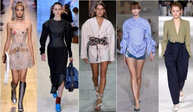 왼쪽부터 Dior, Loewe, Isabel Marant, Y Project, Stella McCartney