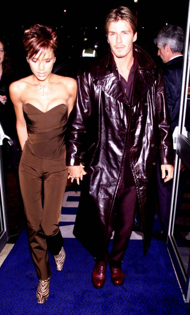 당대의 패션 아이콘인 빅토리아를 만난 후 슬슬 멋을 내기 시작하는 베컴