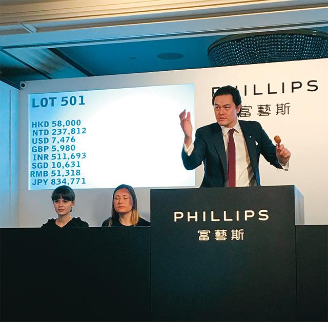 아시아 지역의 20세기 및 현대미술 비즈니스를 관리하는 필립스 경매사 조너선 크로켓(Jonathan Crockett)의 숫자로 보는 일상.