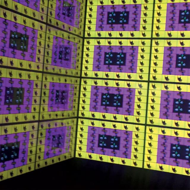 장폴구드가 제작한 로저 비비에의 영상 설치물