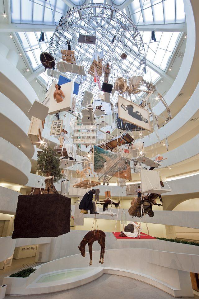 구겐하임 회고전에서 선보인 'All', 2011