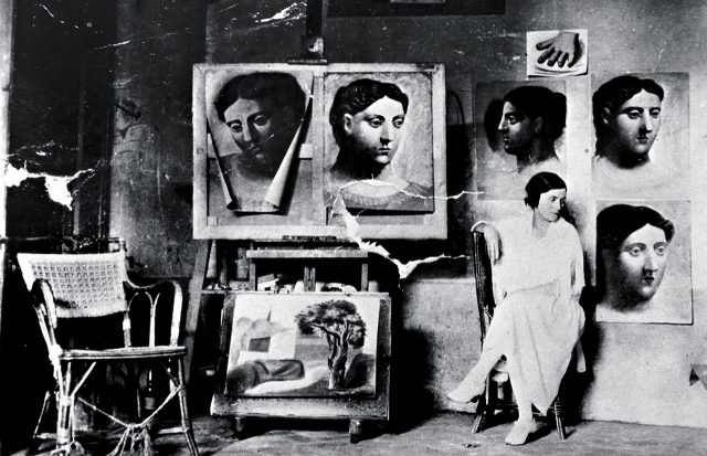 1921년, 피카소의 초상화들과 올가