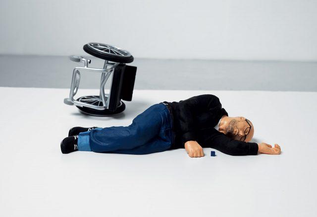 'The Artwork Nobody Knows', 2011 ⓒRyan Gander. Courtesy the artist and Staatliche Museen zu Berlin, Nationalgalerie. Image: Ken Adlard