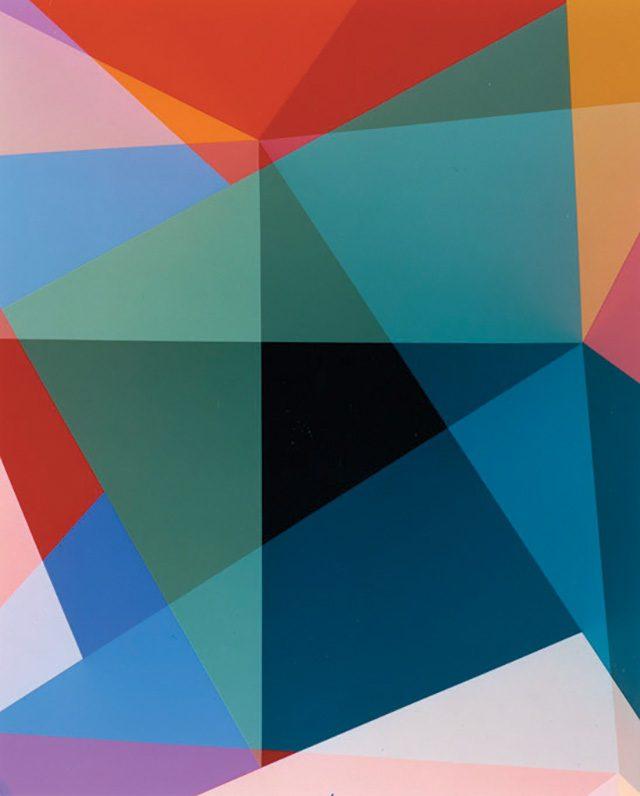 시라나 샤바지(Shirana Shahbazi), 'Komposition-82-2013', 2013, C-print on aluminium framed in white glazed maple frame, behind non-reflective glass, 210×168cm