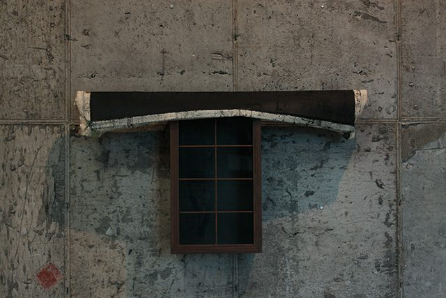 김을, 'Untitled', 2013, mixed media, 56×80×17cm