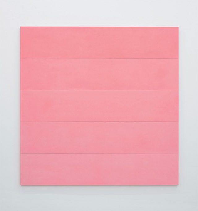 에토레 스팔레티(Ettore Spalletti), 'Sfumato, rosso', 2016, Paintings, Colour impasto on board, 200×200×4cm